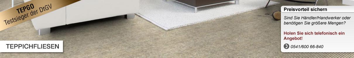 teppichboden fliesen bei tepgo kaufen versandkostenfrei. Black Bedroom Furniture Sets. Home Design Ideas