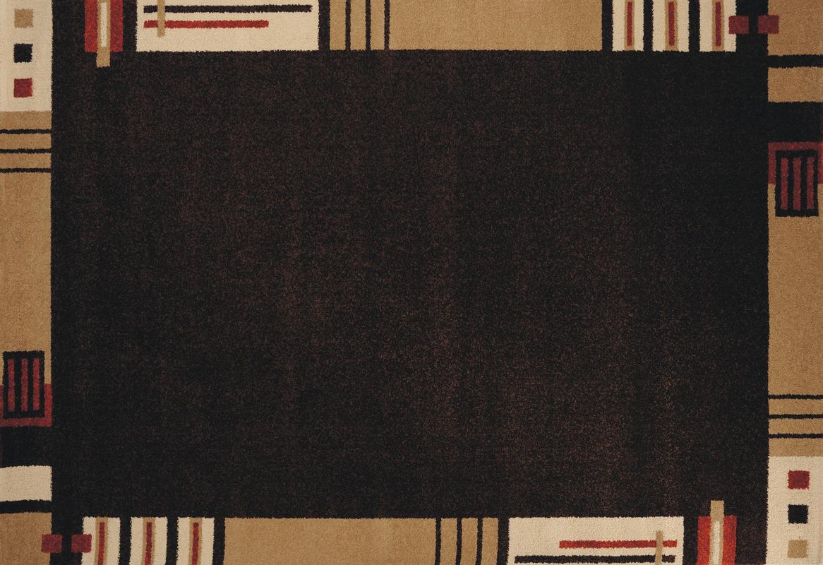 Andiamo Teppich Metz braun Moderner Teppich bei tepg