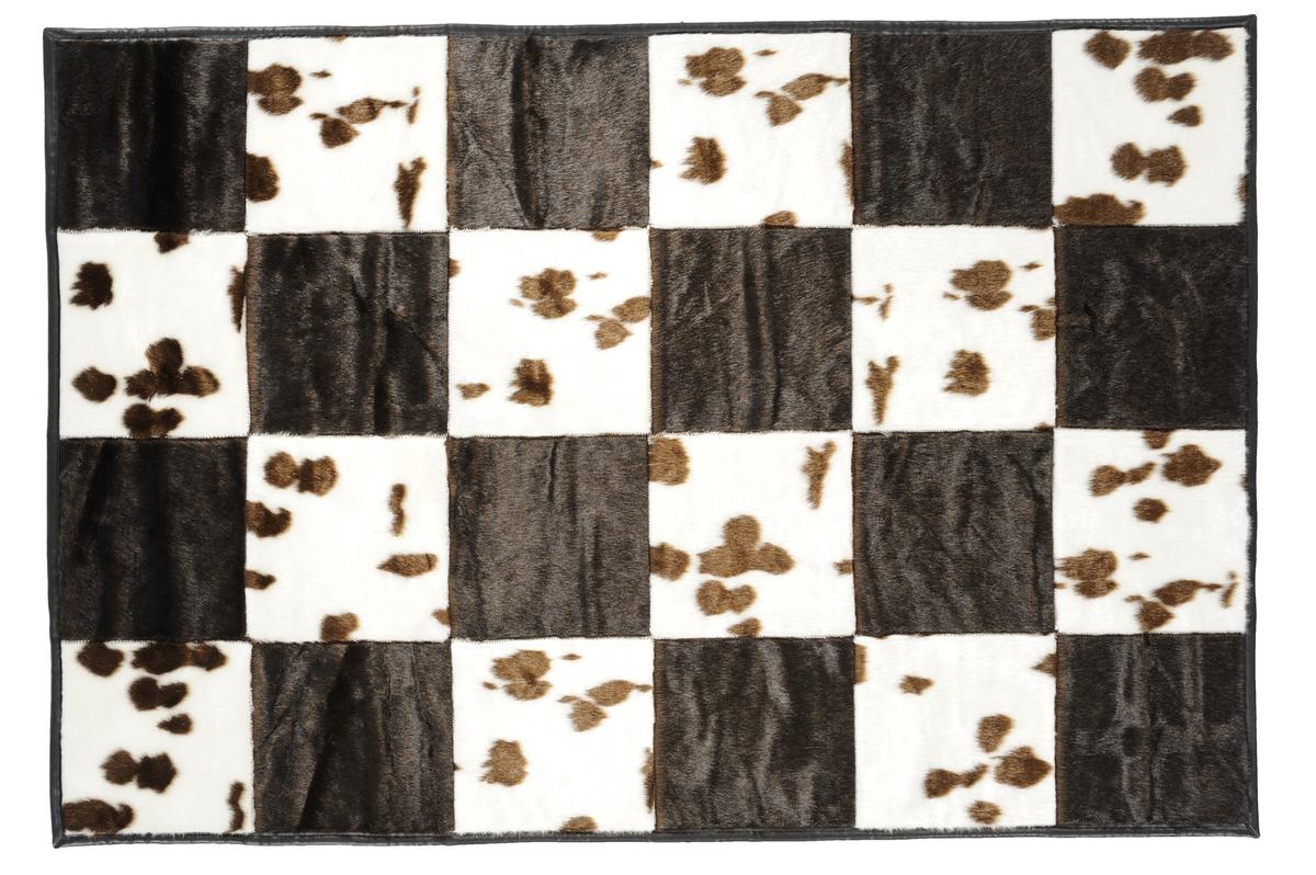 andiamo teppich wild life kuh braun angebote bei tepgo kaufen versandkostenfrei. Black Bedroom Furniture Sets. Home Design Ideas