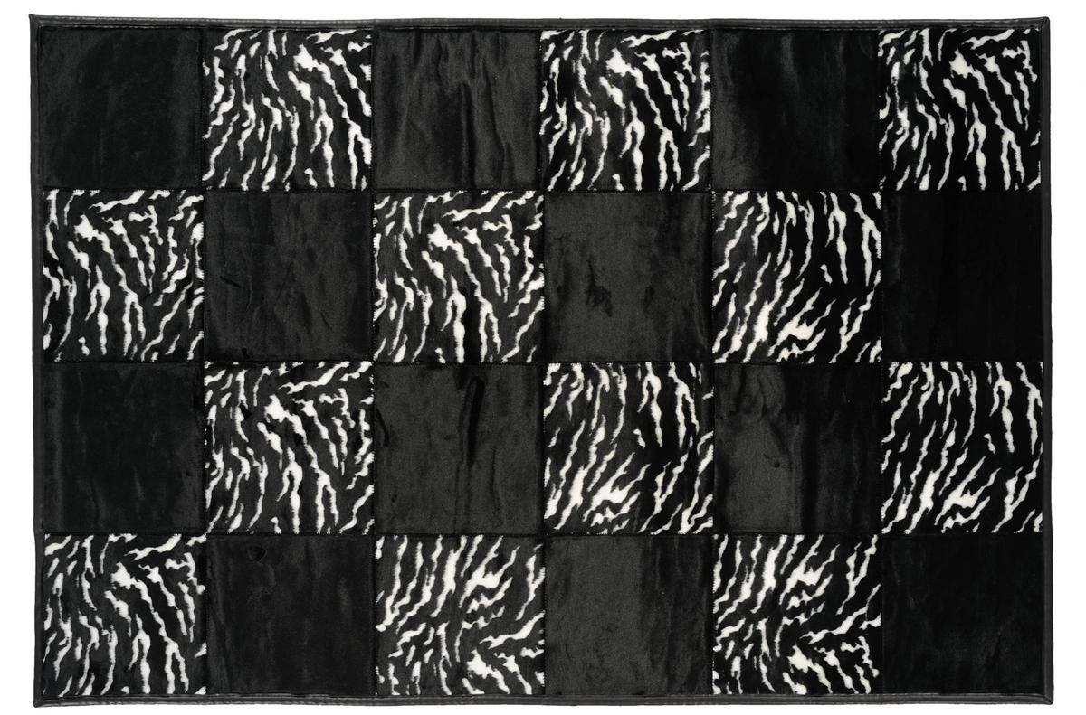 andiamo teppich wild life zebra schwarz angebote bei tepgo kaufen versandkostenfrei. Black Bedroom Furniture Sets. Home Design Ideas