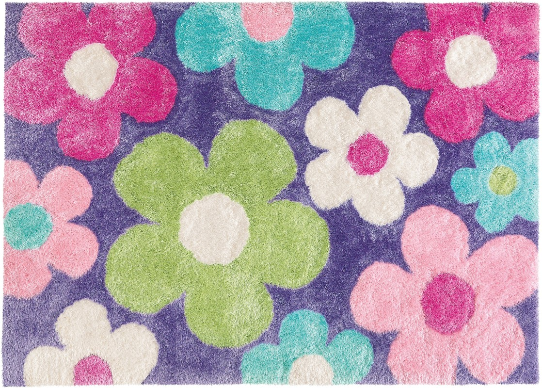 arte espina dance shaggy 8105 50 flieder lila teppich. Black Bedroom Furniture Sets. Home Design Ideas