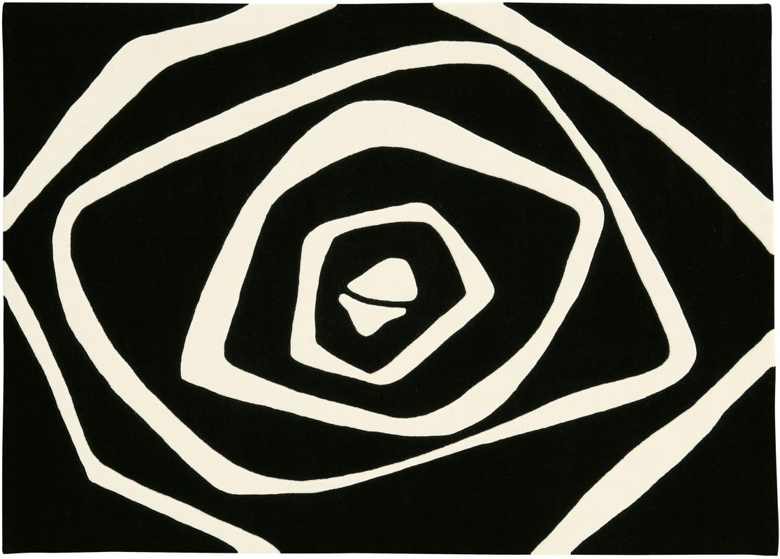 Arte Espina Dynamic 5007 schwarz Moderner Teppich bei