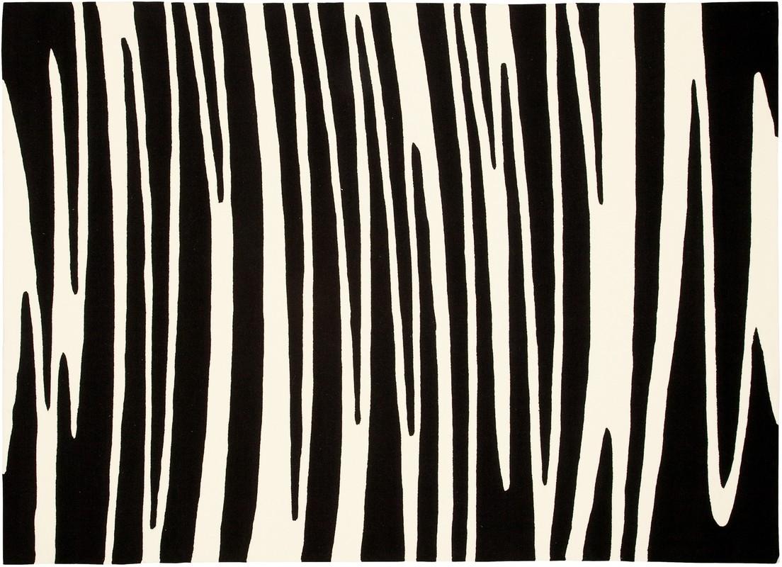 Arte Espina Dynamic 5033 schwarz  Designerteppich