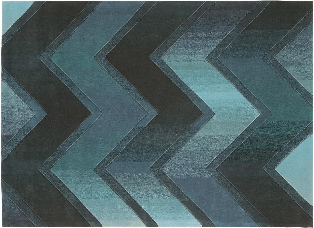 Arte Espina Dynamic 5034 blau Teppich bei tepgo kaufen