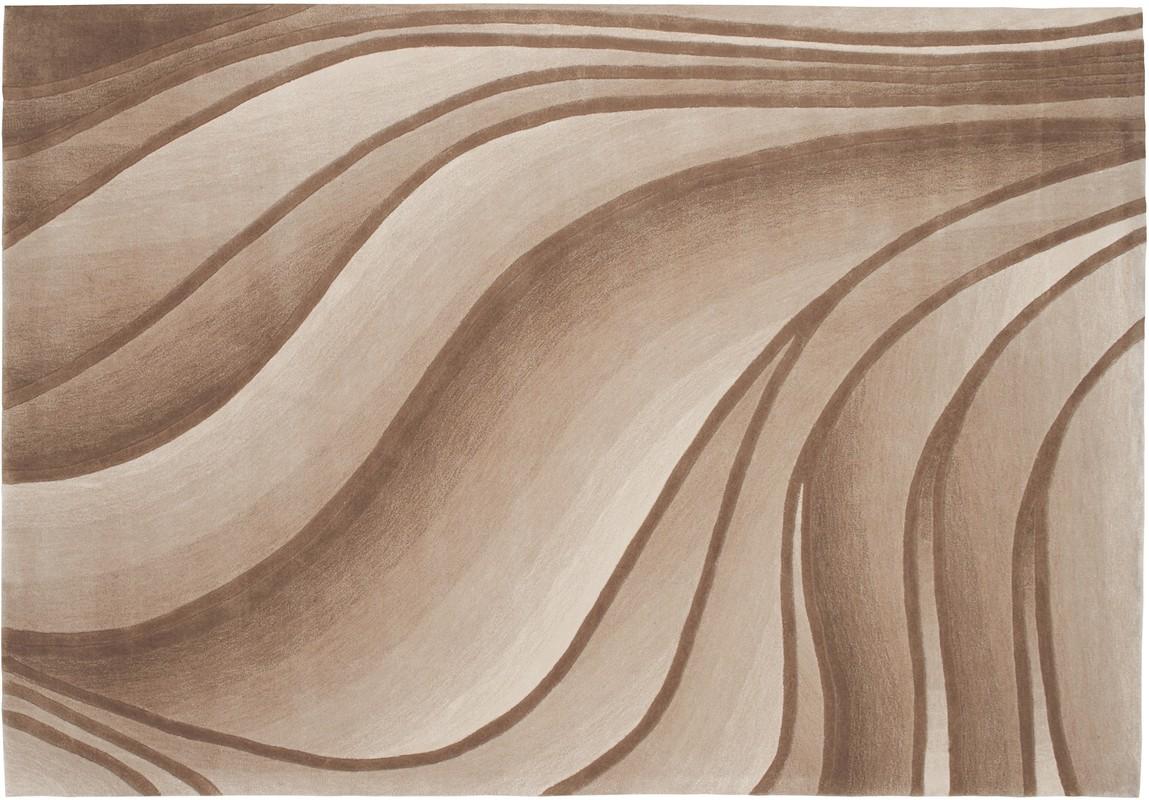 Arte Espina Dynamic 7200 dunkel beige  Designerteppich