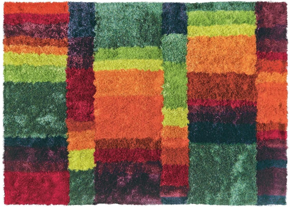 arte espina funky 8110 75 multicolour teppich hochflor teppich bei tepgo kaufen versandkostenfrei. Black Bedroom Furniture Sets. Home Design Ideas