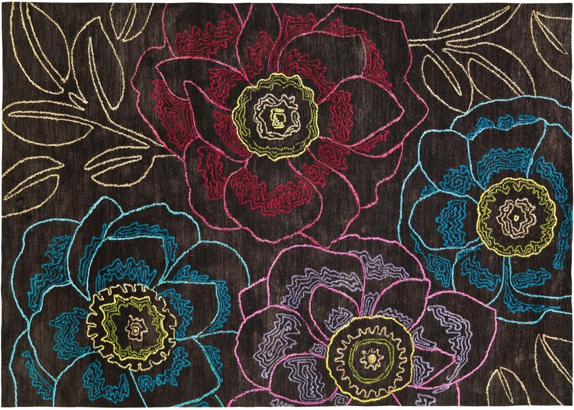 arte espina mood 4300 37 braun designerteppich teppich bei tepgo kaufen versandkostenfrei. Black Bedroom Furniture Sets. Home Design Ideas