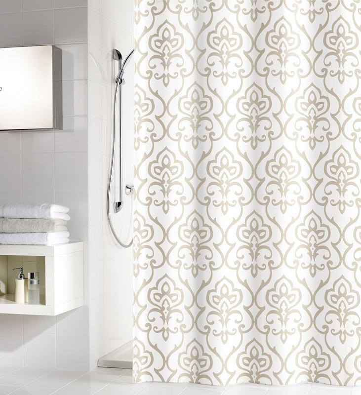 barbara becker duschvorhang amira macadamia. Black Bedroom Furniture Sets. Home Design Ideas