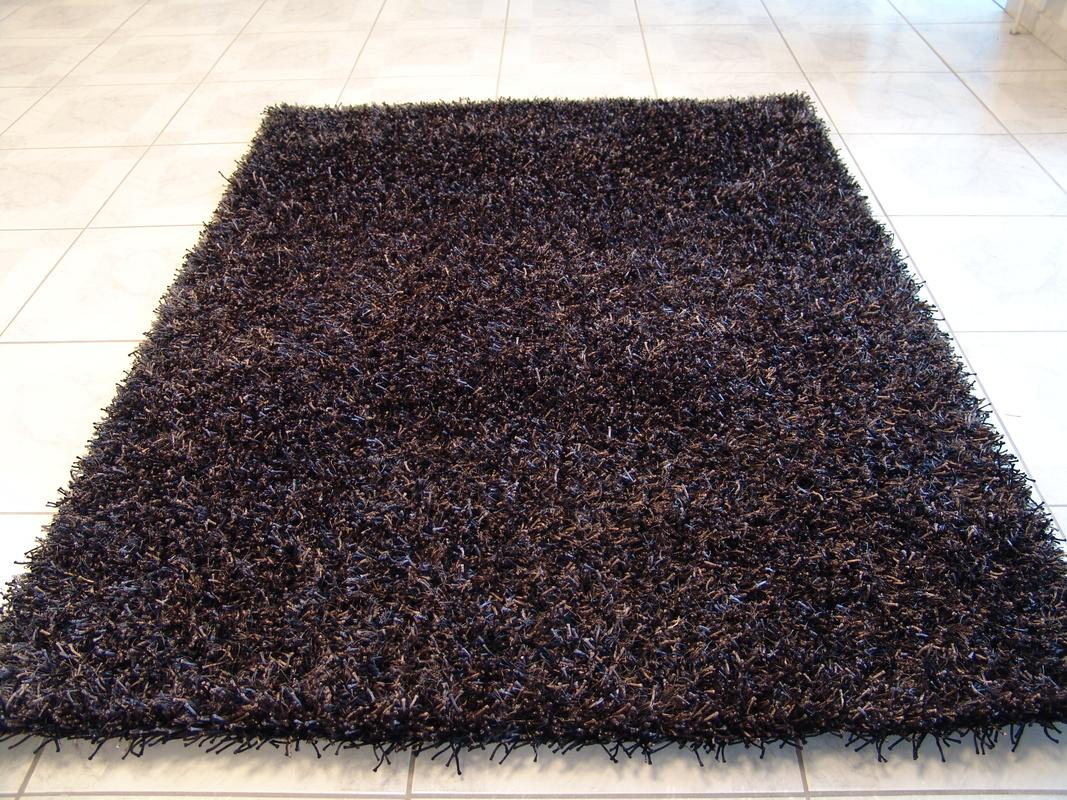 Calypso anthrazit teppich hochflor teppich bei tepgo - Anthrazit teppich ...