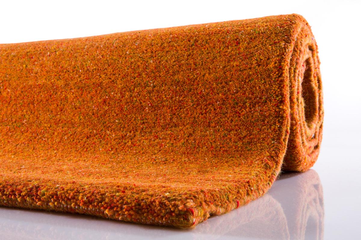 Teppich orange  Casa 15/30 Berber - Teppich - uni orange bei tepgo kaufen ...