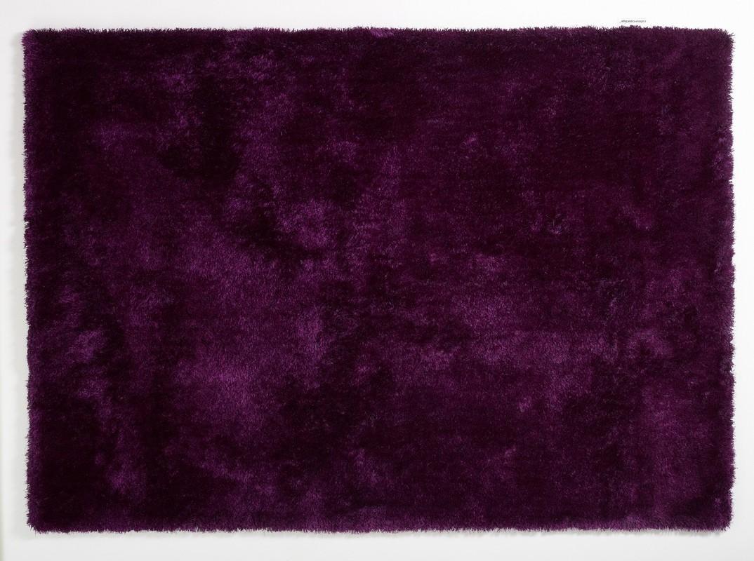 colourcourage aubergine teppich hochflor teppich bei tepgo kaufen versandkostenfrei. Black Bedroom Furniture Sets. Home Design Ideas