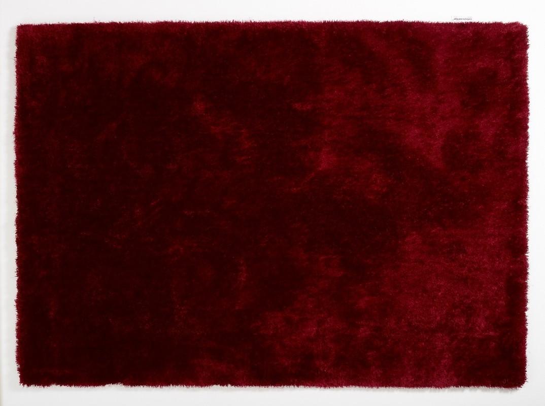 Weinroter teppich  colourcourage burdeos Teppich Hochflor Teppich bei tepgo kaufen ...