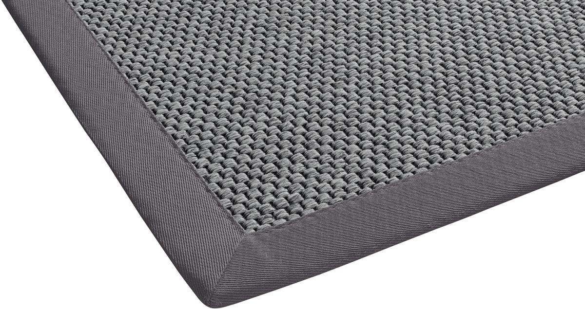 dekowe teppich naturana panama grau wunschma im wunschma konfigurieren und bei tepgo kaufen. Black Bedroom Furniture Sets. Home Design Ideas