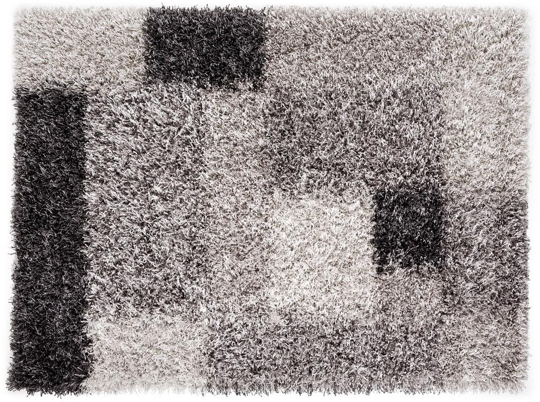 lina ruperti hochflorteppich domingo 21 silber teppich hochflor teppich bei tepgo kaufen. Black Bedroom Furniture Sets. Home Design Ideas