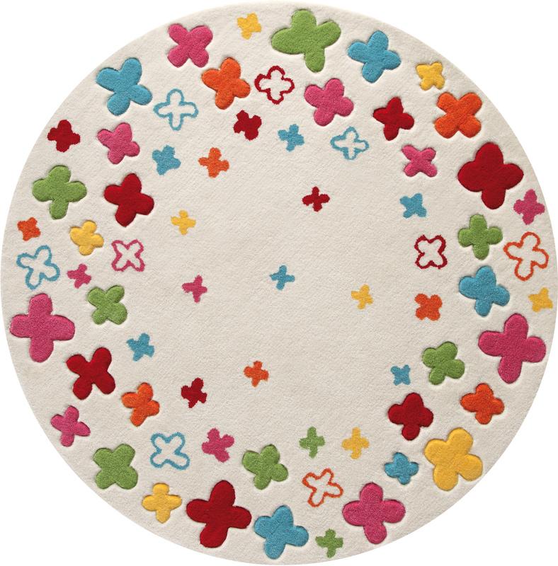 Fesselnd ESPRIT Kinder Teppich, Bloom Field ESP 2980 01 Beige, Öko
