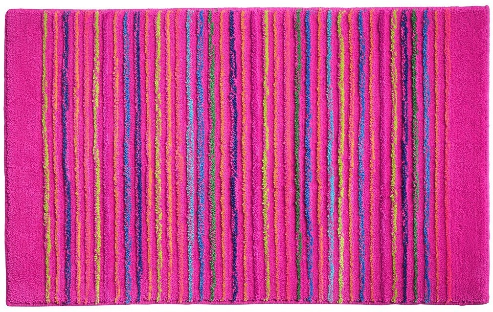 esprit badteppich cool stripes esp 0232 05 rosa pink badteppiche bei tepgo kaufen. Black Bedroom Furniture Sets. Home Design Ideas