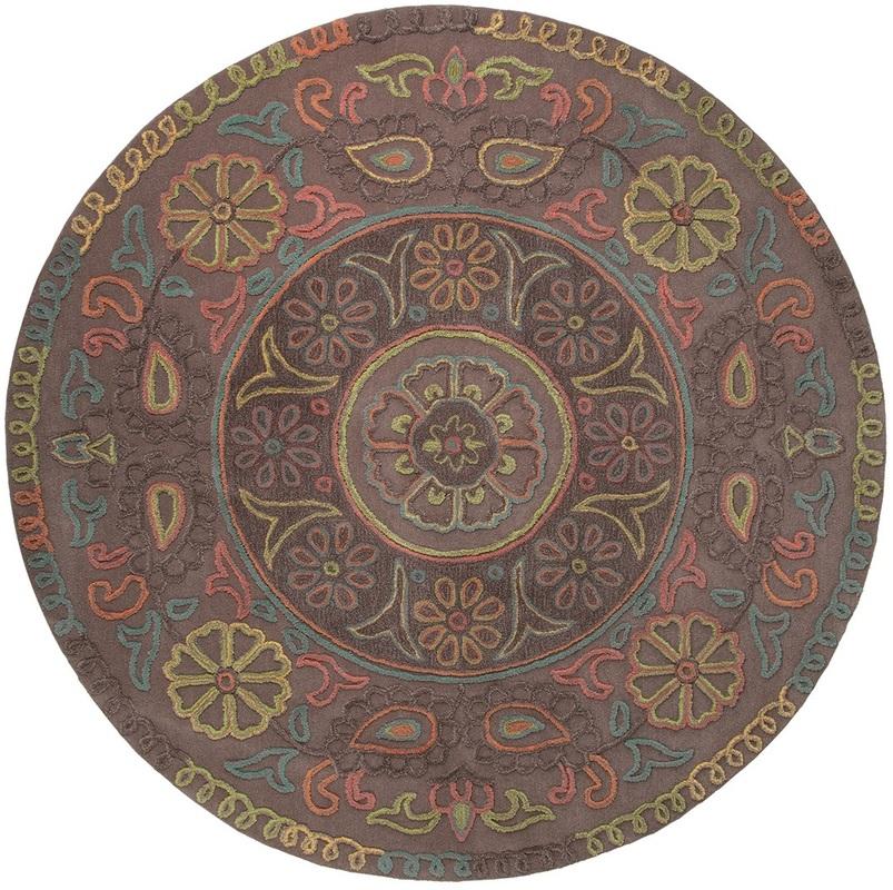 esprit teppich mandala esp 3405 03 taupe bei tepgo kaufen versandkostenfrei. Black Bedroom Furniture Sets. Home Design Ideas