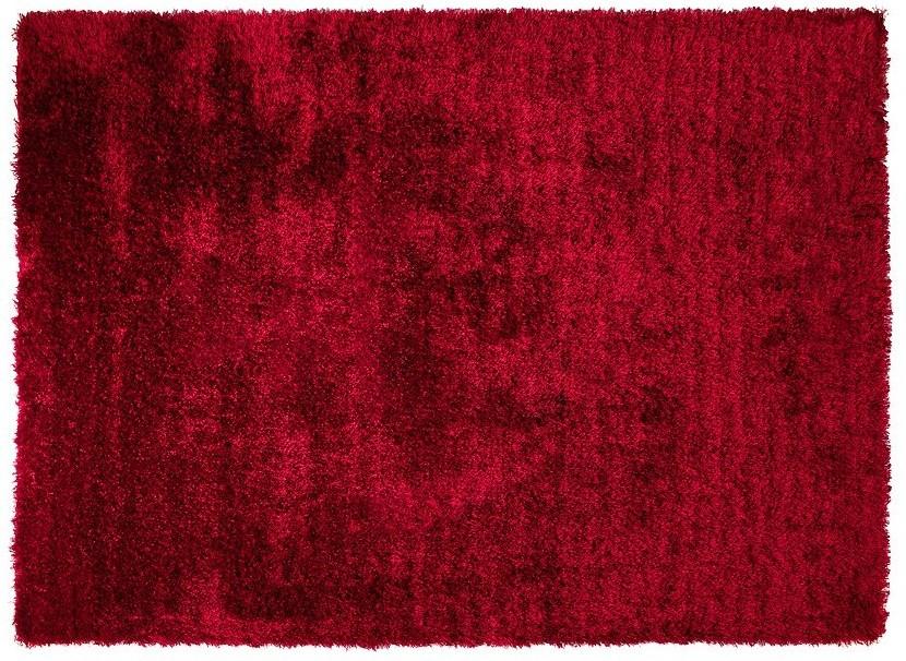 Weinroter teppich  ESPRIT Hochflor-Teppich, New Glamour, ESP-3303-15, rot Teppich ...