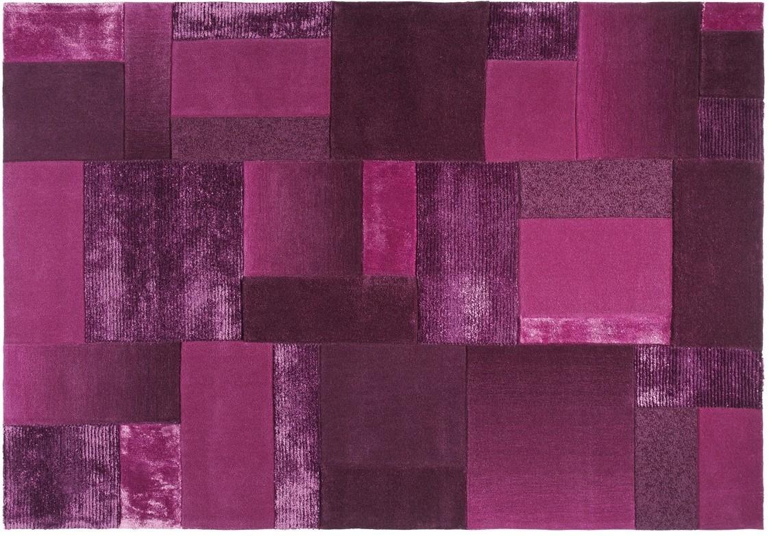 esprit teppich patchwork esp 2827 02 flieder lila bei tepgo kaufen versandkostenfrei. Black Bedroom Furniture Sets. Home Design Ideas