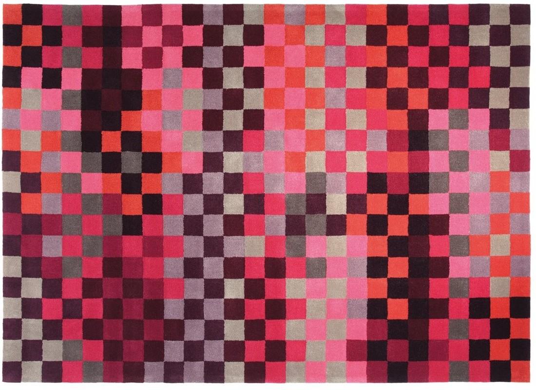 ESPRIT Teppich, Pixel, ESP283401 rot Angebote bei tepgo