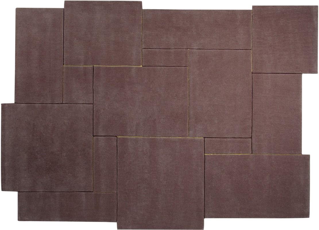 esprit teppich puzzle esp 3119 01 braun angebote bei tepgo kaufen versandkostenfrei. Black Bedroom Furniture Sets. Home Design Ideas