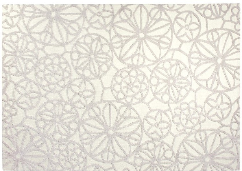 esprit teppich society circle esp 6100 06 weiss. Black Bedroom Furniture Sets. Home Design Ideas