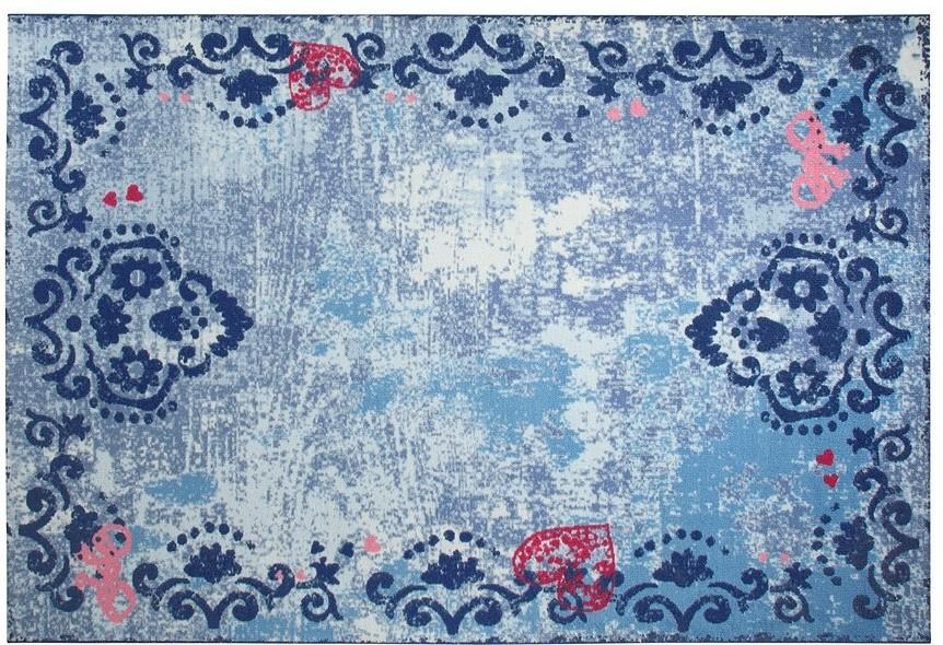 Esprit Teppich Kinderteppich ~ Esprit teppich sweet memories esp blau teppich