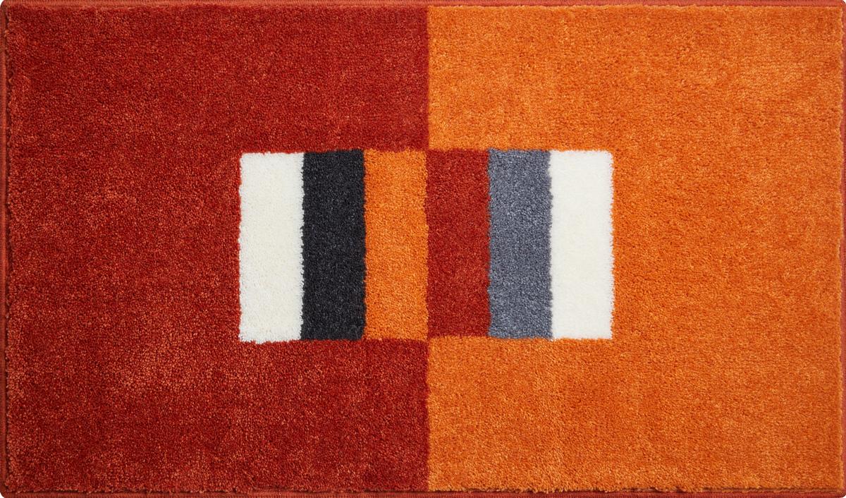 grund badteppich linea due capricio orange badteppiche bei tepgo kaufen versandkostenfrei. Black Bedroom Furniture Sets. Home Design Ideas