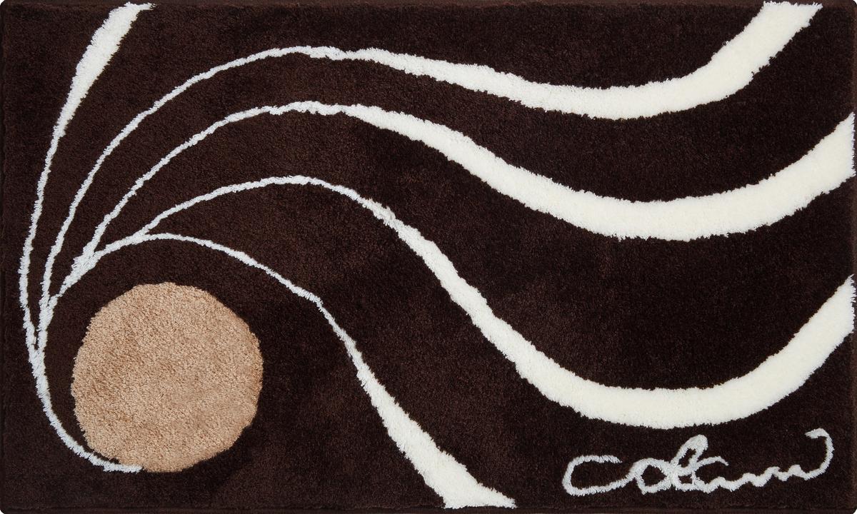 Colani 18 Badteppich Braun. Detailansicht Wird Geladen