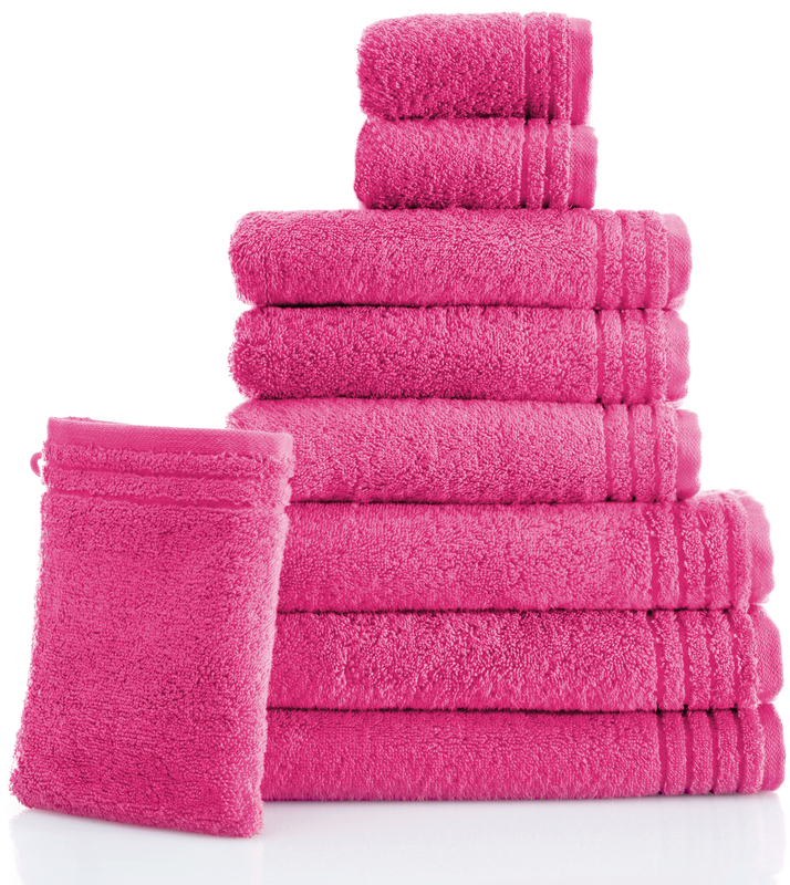 grund handtuch memory pink badaccessoires handtuch