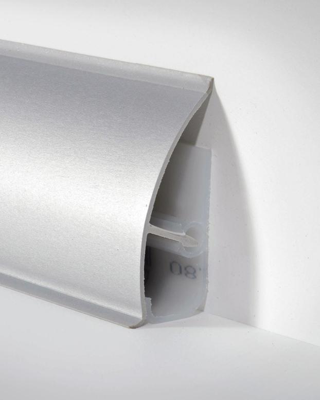 d llken md 63 systemsockelleiste alu metallic paketinhalt 2 5 m bodenbel ge. Black Bedroom Furniture Sets. Home Design Ideas