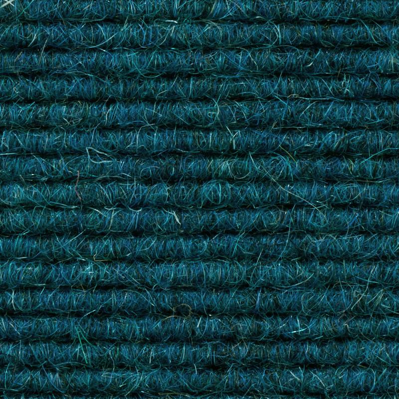 ilima Teppichboden Interland 567 Fliesen 50x50 cm Blau