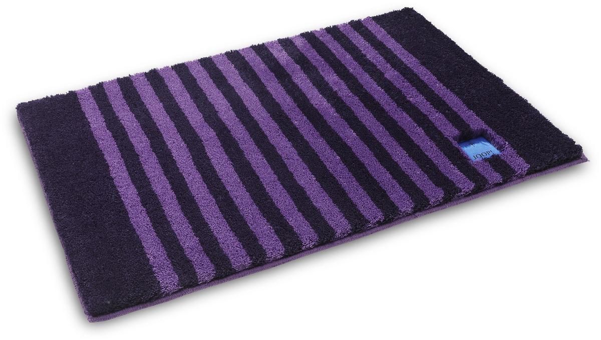 joop badteppich classic stripes purpur badteppiche bei tepgo kaufen versandkostenfrei. Black Bedroom Furniture Sets. Home Design Ideas