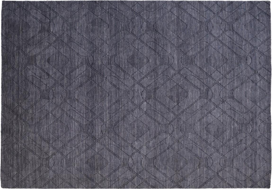kayoom teppich ganges 610 schwarz grau bei tepgo kaufen. Black Bedroom Furniture Sets. Home Design Ideas