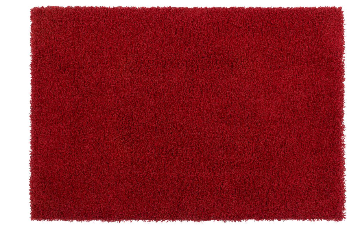 kayoom hochflor teppich oslo rot teppich hochflor teppich bei tepgo kaufen versandkostenfrei. Black Bedroom Furniture Sets. Home Design Ideas