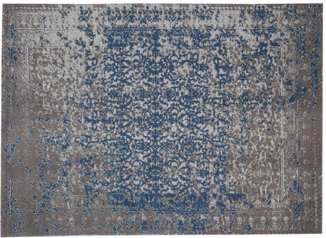 kayoom teppich sunny 310 beige blau vintage patchwork bei tepgo kaufen versandkostenfrei. Black Bedroom Furniture Sets. Home Design Ideas