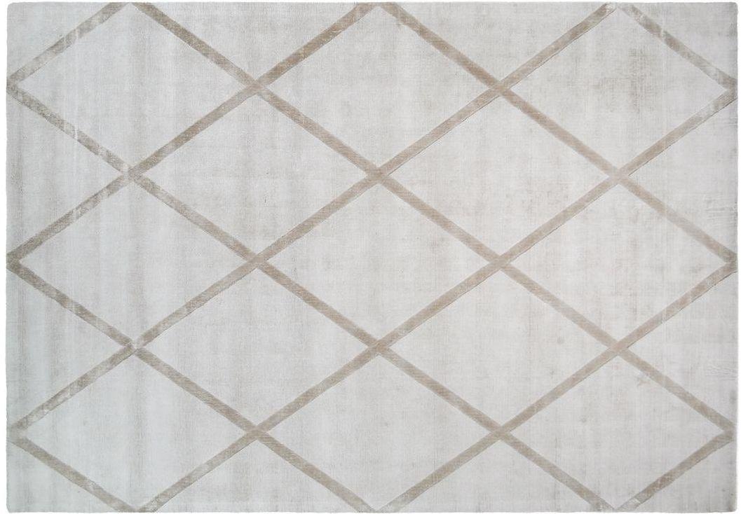 Kayoom Teppich Luxury 210 Elfenbein Taupe Viskose Teppich Bei