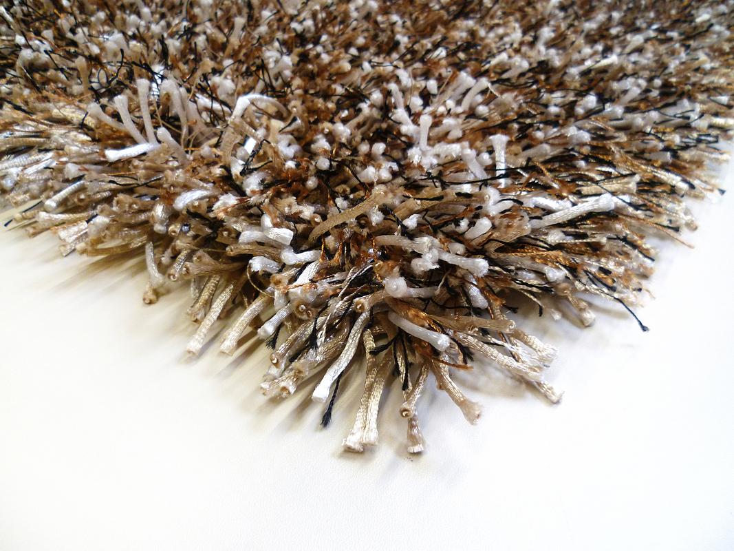 keen joy shaggy cabernet beige braun schwarz teppich. Black Bedroom Furniture Sets. Home Design Ideas
