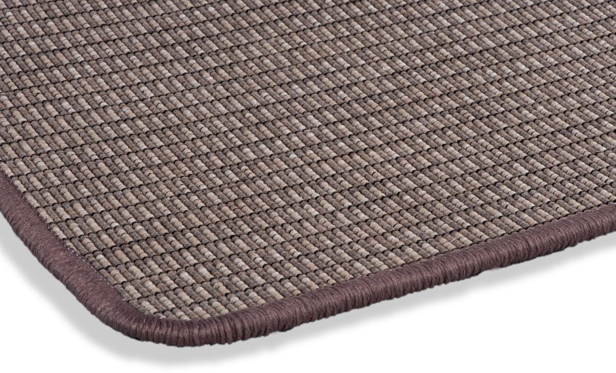 dekowe outdoorteppich naturino blockstreifen braun teppich. Black Bedroom Furniture Sets. Home Design Ideas