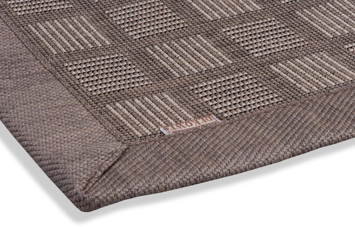 dekowe outdoorteppich naturino schachbrett braun teppich outdoorteppiche bei tepgo kaufen. Black Bedroom Furniture Sets. Home Design Ideas