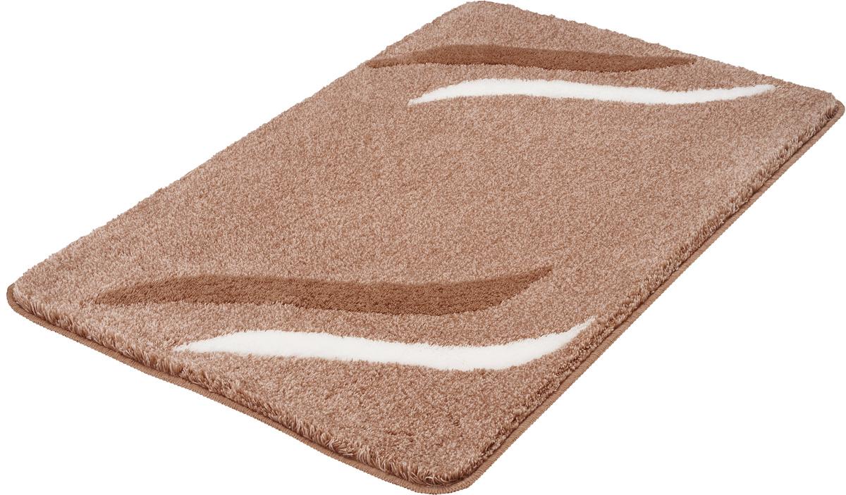 kleine wolke badteppich florenz taupe badteppiche bei tepgo kaufen versandkostenfrei. Black Bedroom Furniture Sets. Home Design Ideas