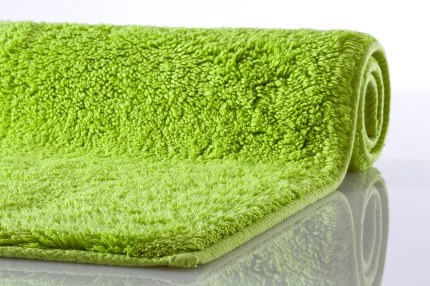 kleine wolke badematte kansas gr n reine baumwolle rutschhemmender r cken badteppiche bei. Black Bedroom Furniture Sets. Home Design Ideas