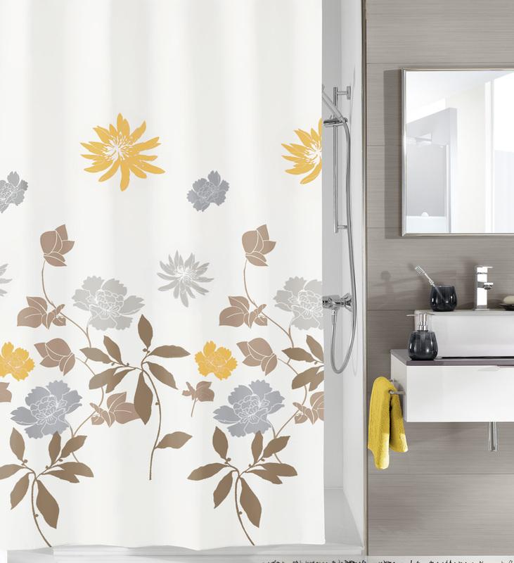 kleine wolke duschvorhang alice taupe 180 x 200 cm breite x h he badaccessoires duschvorhang. Black Bedroom Furniture Sets. Home Design Ideas