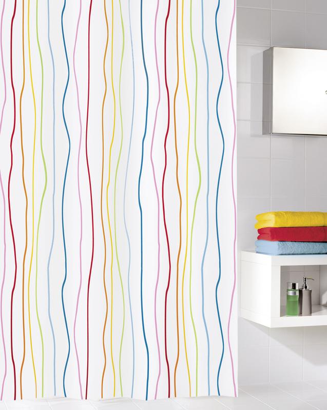 kleine wolke duschvorhang jolie multicolor 180 x 200 cm breite x h he badaccessoires. Black Bedroom Furniture Sets. Home Design Ideas