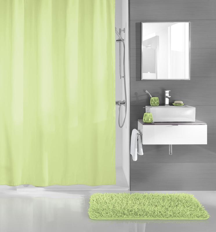kleine wolke duschvorhang uno maigr n 180 x 200 cm breite x h he badaccessoires duschvorhang. Black Bedroom Furniture Sets. Home Design Ideas