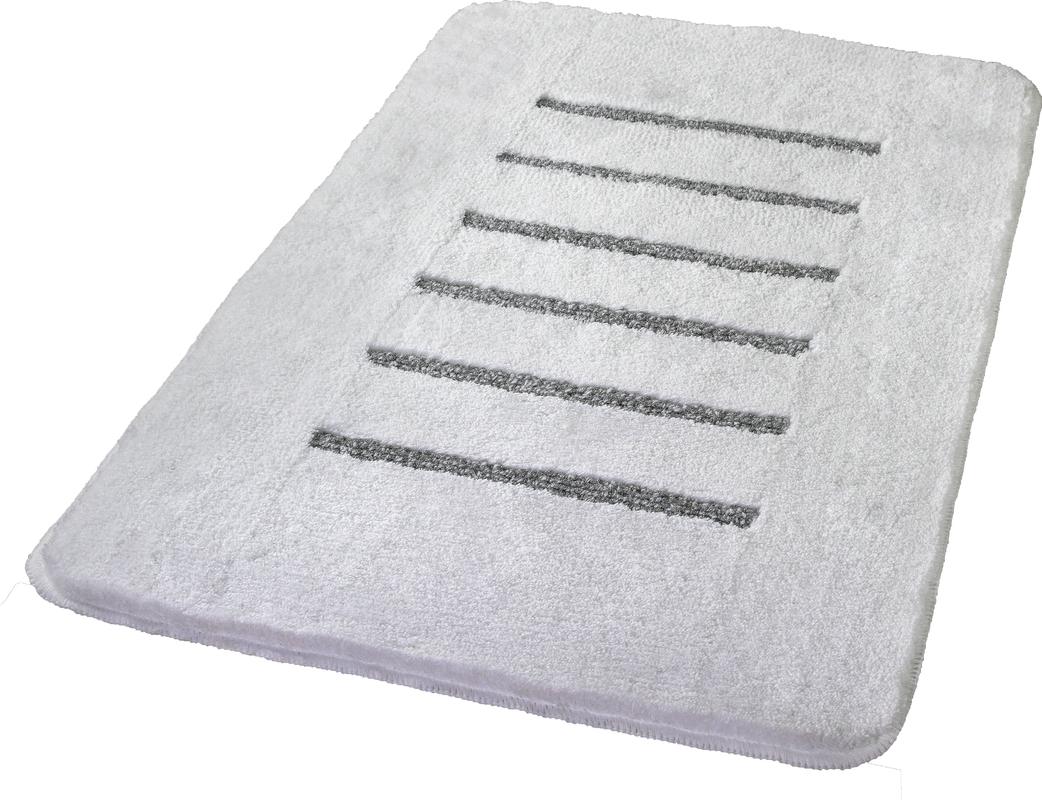 Kleine Wolke Badteppich Jewel Weiss Silber Badteppiche Bei Tepgo