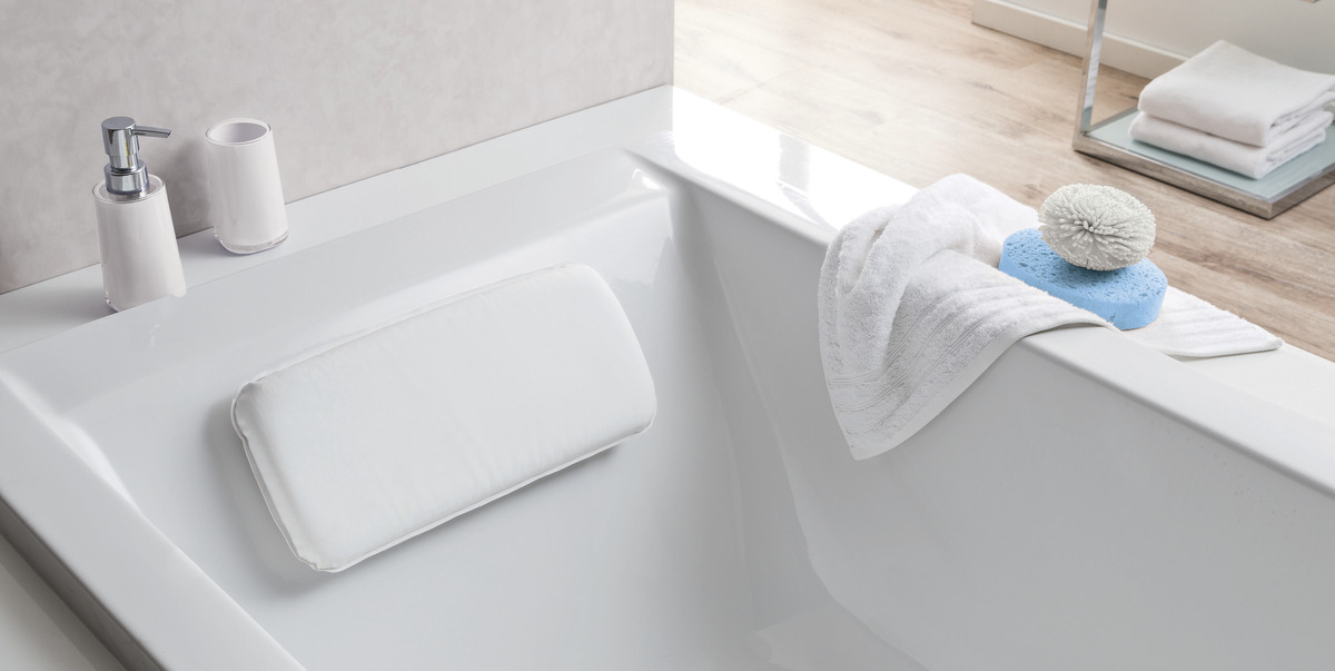 Kleine Wolke Nackenpolster Cushion, White
