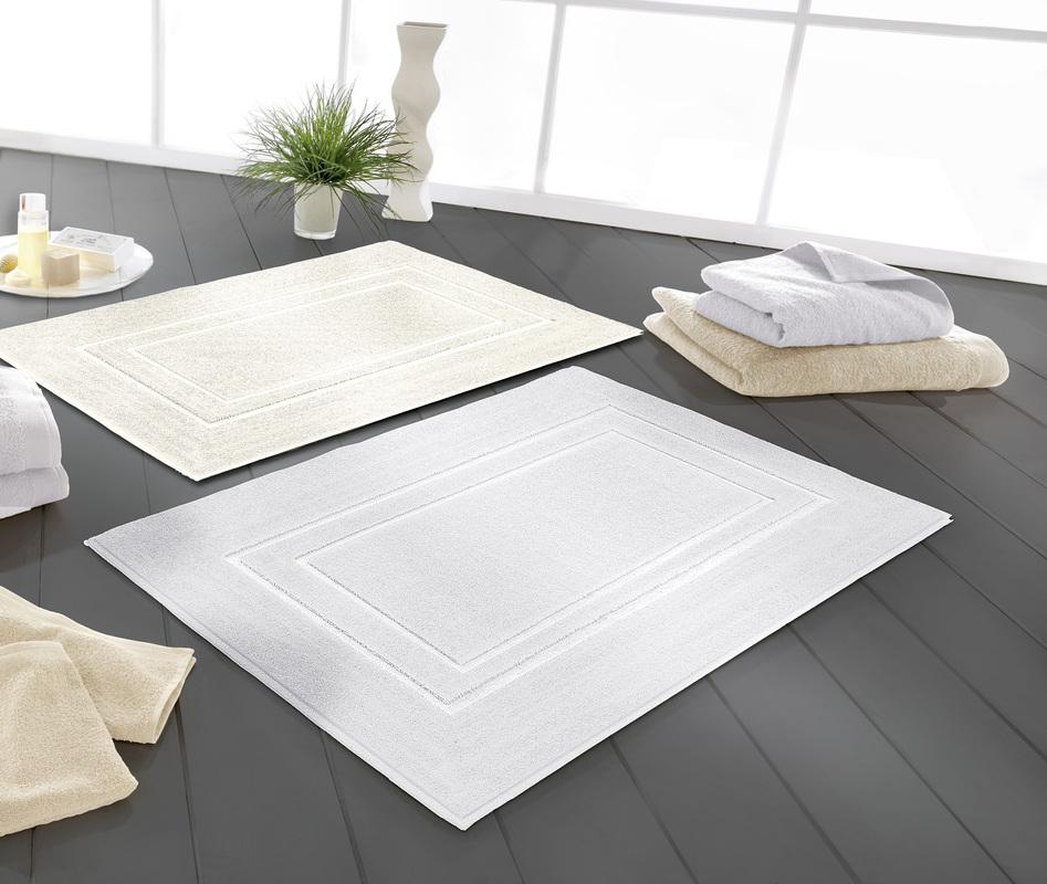 bilder kleine wolke badteppich plaza schneeweiss. Black Bedroom Furniture Sets. Home Design Ideas