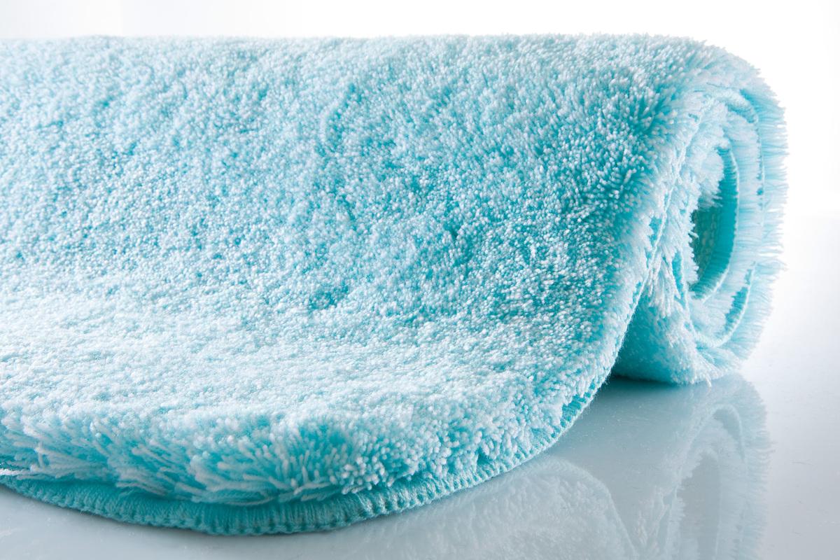 Kleine Wolke Badteppich, Relax, Aqua, rutschhemmender