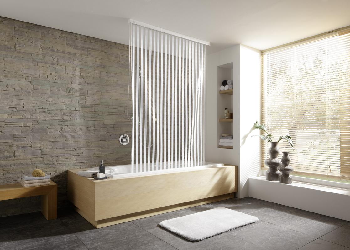 kleine wolke rollo schmal wei 53x240 cm badaccessoires duschrollo bei tepgo kaufen. Black Bedroom Furniture Sets. Home Design Ideas